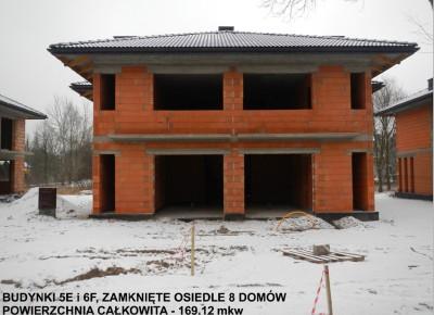 Styczeń 2015 - 8 domów na ul. Poznańskiej, Legionowo